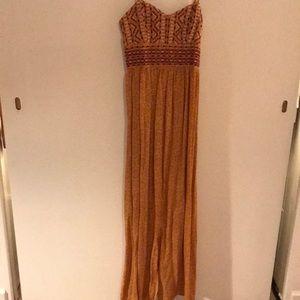 Target M Strappy Maxi Dress